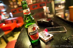 Bintang Time! (Brian O'Mahony) Tags: bali food cold beer beautiful bar canon indonesia bottle fuji drink grill lighter cigarettes dingin bintang tks sanur canon1635mmf28lusm sekali brianomahony canon6d thephotographiceye