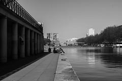 IMG_9253 (::nicolas ferrand simonnot::) Tags: street white black paris field zeiss vintage de lens t photography 50mm prime canal depthoffield mount carl manual depth planar | 2016 f17 lourcq contaxyashica