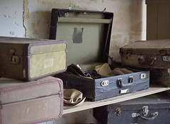 Tennessee State Hospital (Jonnie Lynn Lace) Tags: abandoned ruins decay peelingpaint suitcase derelict decayed decaying modernruins abandonedhospital abandonedsouth chasinglight abandonedamerica patientsuitcase