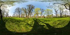 Schlosspark Biebrich (ako_law) Tags: park panorama wiesbaden panoramic schlosspark 360x180 biebrich ptgui equirectangular wiesbadenbiebrich nodalninja schlossparkbiebrich canoneos6d nodalninja3markii samyang14mm