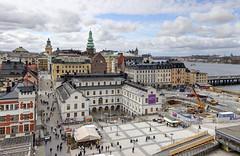 Slussen (Ana >>> f o t o g r a f  a s) Tags: europa europe sweden stockholm schweden slussen sverige scandinavia sthlm hdr estocolmo stoccolma suecia katarinahissen gondolen photomatix escandinavia stockholmsstadsmuseum geo:country=sweden geo:region=europe stockholmcard potd:country=es hdrworldsweden