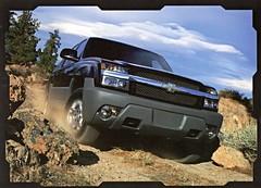 2003 Chevrolet Avalanche (aldenjewell) Tags: 2003 chevrolet truck postcard avalanche