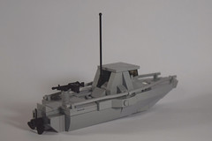 DW PBR (Dyroth) Tags: coffee modern boat lego vehicle pbr darkwater combat legovehicle legoboat brickarms legoguns legomilitary legobattle legobrickarms modernmilitary legowar legomarines legocustomguns legovietnam modercombat