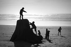 (sparth) Tags: beach washington silhouettes wa washingtonstate plage sparth rx100 sonyrx100