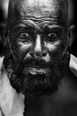 Eyes (Zuhair Ahmad) Tags: street portrait man canon beard 50mm eyes details story saudi arabia ahmad copyrights wrinkles makkah 2016 zuhair 400d
