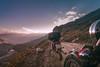 Higher Pursuits (Motographer) Tags: sunset mountains landscape evening hp nikon cloudy pass motorcycle bullet d200 manali himachal himalayas himachalpradesh marhi rohtang royalenfield sigma1020mm motography motorcyclegetaways motographer lb500 motograffer