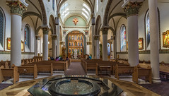 Cathedral Basilica of St. Francis of Assisi (LDMcCleary) Tags: newmexico santafe church catholic basilica voigtlander stfrancis 15mm heliar sonya7rii