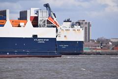 Old & New Atlantic Conveyor & Star (Gareth Garbutt) Tags: acl rivermersey atlanticstar atlanticcontainerline atlanticconveyor