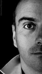 AUTOPORTRAIT (ManuDomp'S) Tags: portrait bw 3d autoportrait noiretblanc nb nuances equilibre emmanueldomps