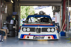 1973 BMW E9 3.0 CSL (belgian.motorsport) Tags: auto heritage classic cup 30 racing historic peter event bmw circuit spa touring csl e9 francorchamps 2014 youngtimer