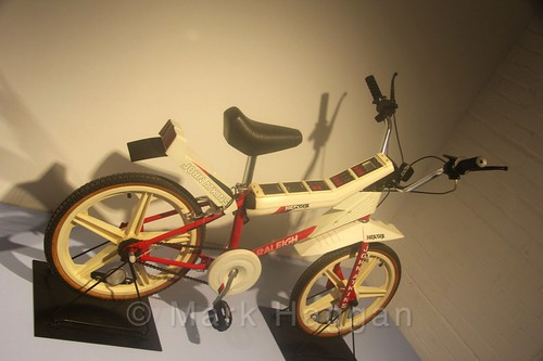 A Raleigh Vektar bike at Coventry Transport Museum