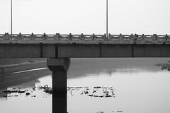 Country Bridge 2 (Bob Hawley) Tags: blackandwhite outdoors countryside asia taiwan bridges rivers kaohsiung nikon1755f28 nikond7100 ziguantownship
