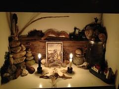 Seal Spirit (Belladonna Frostwych) Tags: ocean sea seaweed spirit totem altar seal allies sacredspace sealspirit