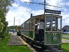Trams at Motat (velton) Tags: new car electric museum industrial technology trolley transport tram railway melbourne cable brush auckland zealand springs western machines motat