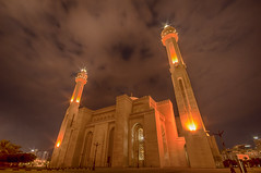 Grand Mosque at night (Donald E. Curtis) Tags: bahrain nightshot grand mosque