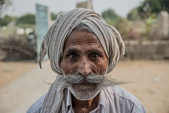 114 (ahmadtalha1987) Tags: poverty travel pakistan portrait people portraits photography faces moustache traveller thar tharparkar nagarparkar
