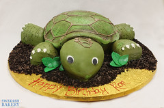 Sculpted Buttercream Tortoise (Swedish Bakery Chicago) Tags: green cakes cake turtle tortoise buttercream swedishbakery sculptedcake