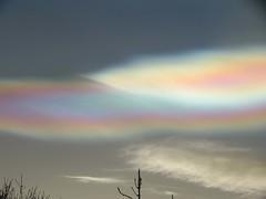 02Feb16 Nacreous Close4 (Daisy Waring World) Tags: pink sky cloud silver motherofpearl nacreous torquoise