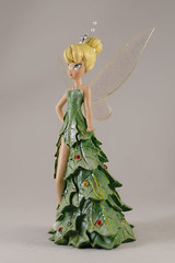 _DSC7001 (Kees Peters) Tags: christmas xmas out photography for holidays dress tinkerbell disney figure mistletoe figurine decked the