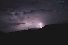...sometimes darkness can show you the light (Raffaele Preti) Tags: sky italy storm bologna lightning storms luce temporale lampo lampi lightnings fulmine fulmini temporali