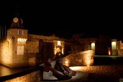 Concarneau (cyrille godard) Tags: france night sony bretagne concarneau a200 paysage nuit finistre 1870 ancre villeclose sony1870