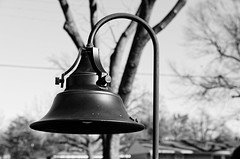 lamp (fallsroad) Tags: blackandwhite bw lamp neighborhood tulsaoklahoma nikond7000