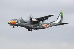 2811 Fairford 16/07/09 (Andy Vass Aviation) Tags: 2811 fairford brazilianairforce casa295
