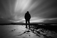 Slow Movement (Pascal Schwab) Tags: blackandwhite selfportrait monochrome clouds dark nikon slow surreal serene darkart sigma1020 d5100