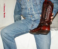 self2894 (Tommy Berlin) Tags: men jeans levis jeansjacket 501 cowboybutts