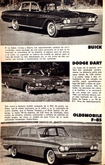 Mecnica Popular 1961 - Autos nuevos 1961 (RiveraNotario) Tags: cars vintage buick 60s retro pontiac autos 1961 popularmechanics mecanicapopular autosmecanicapopularpopularmechanicsvintage