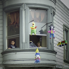 From a Second-Floor Window (Greatest Paka Photography) Tags: sanfrancisco festival neighborhood celebration mexican streetparade carnaval pinata missiondistrict barrio