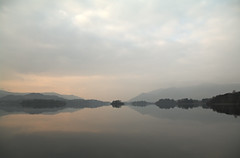 Derwent Water (March 2015 #3) (Lazlo Woodbine) Tags: england lake reflection water landscape march nationalpark pentax britain dusk lakes lakedistrict cumbria derwentwater 1855mm nationaltrust keswick thelakes britishcountryside thelakedistrict k7 2015 nothdr