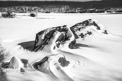 Lake Tiorati, Harriman NY (RobMatthews) Tags: winter snow newyork lakes newyorkstate harriman laketiorati