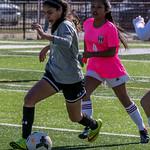 BC v CN Girls JV Soccer @ Soccer For A Cure 2-13-16