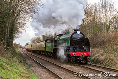 GCR-WINTER-GALA-56 (Steven Reid - Reid Photographic) Tags: railroad heritage train vintage smoke engine railway steam locomotive 777 sr steamengine n15 southernrailway steamlocomotive 2016 greatcentralrailway gcr wintergala heritagerailways sirlamiel kingarthurclass
