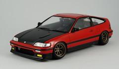 Fujimi Honda J'S Racing Lip CR-X (Zeda's Model Life) Tags: honda crx 124 modelcar watanabe jsracing