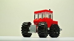 Articulated Tractor (MOC) (hajdekr) Tags: inspiration tractor toy lego small bricks wheels creation technic vehicle easy agriculture articulated buildingblocks moc agro myowncreation microscale articulatedtractor