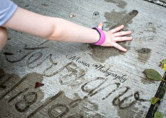 Lou Ferrigno Hand Print (EASY GOER) Tags: world canon 50mm disney 5d 12 markiii hollywoodstudios