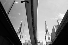 Reflection (Daymon55) Tags: windows sky reflection building london