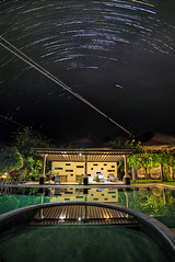 StarTrail (xxtreme942) Tags: bali star poolside candidasa startrail resortinbali easternbali