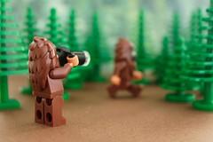 Bigfoot Sighting! (thereeljames) Tags: toys photography lego legos minifig bigfoot sasquatch minifigure toyphotography legopics legophotography