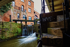 Deansgate Tunnel lock 2 (Explored Feb 16) (another_scotsman) Tags: urban manchester canal industrial castlefield rochdalecanal
