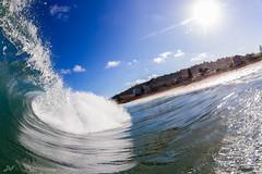 Arvo Mist (David Field (Sydney)) Tags: ocean new travel blue sea summer sun mist beach nature water wales canon amazing waves south awesome tube sydney wave australia beaches northern aquatech arfternoon