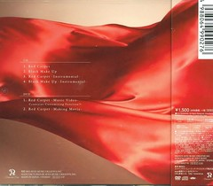 Red Carpet (cd+dvd) (scan) (2) (Namie Amuro Live ) Tags: namie amuro cover redcarpet singlecover cddvd