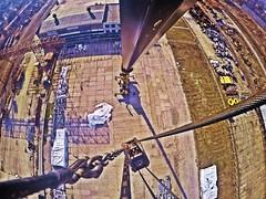 42 meter selfie-stick, SENNEBOGEN Crane (Alexandr Tikki) Tags: world life travel blue original winter light sky selfportrait modern wow idea crazy amazing perfect view awesome great creative hero unusual concept moment incredible chernobyl selfie tikki gopro sennebogen 42meter chnpp selfiestick goprohero4 alexandrtikki leveltravel
