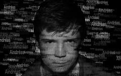 Name portrait (EireteenPhotos) Tags: portrait white black composite photoshop effects name scatter edit selfie