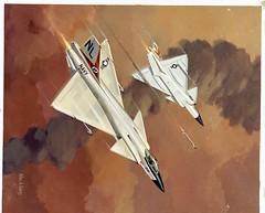 Atlas Negative Collection Image (San Diego Air & Space Museum Archives) Tags: airplane aircraft aviation militaryaviation convair vstol convair200 convairmodel200