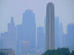Hazy morning in Kansas City, 31 Aug 2015 (photography.by.ROEVER) Tags: morning summer skyline haze august kansascity missouri kc hazy kcmo 2015 hazyday kansascityskyline kcskyline hazymorning august2015