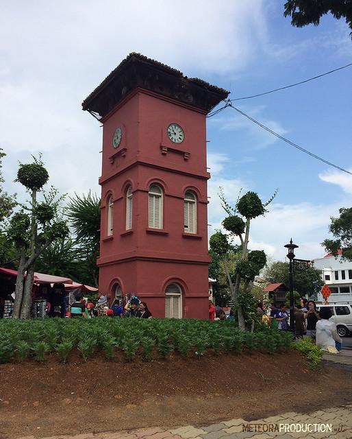 Stadthuys Clock Tower, Melaka