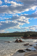 Sea and clouds in Sardinia (salvatore zizi) Tags: sardegna winter sea italy mer beach clouds europa italia nuvole mare sardinia wind playa porto plage spiaggia sardinien salvatore olbia istana zizi gallura